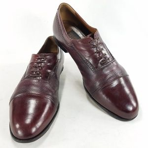 To Boot New York Mens Oxblood Cap Toe Oxford Shoes